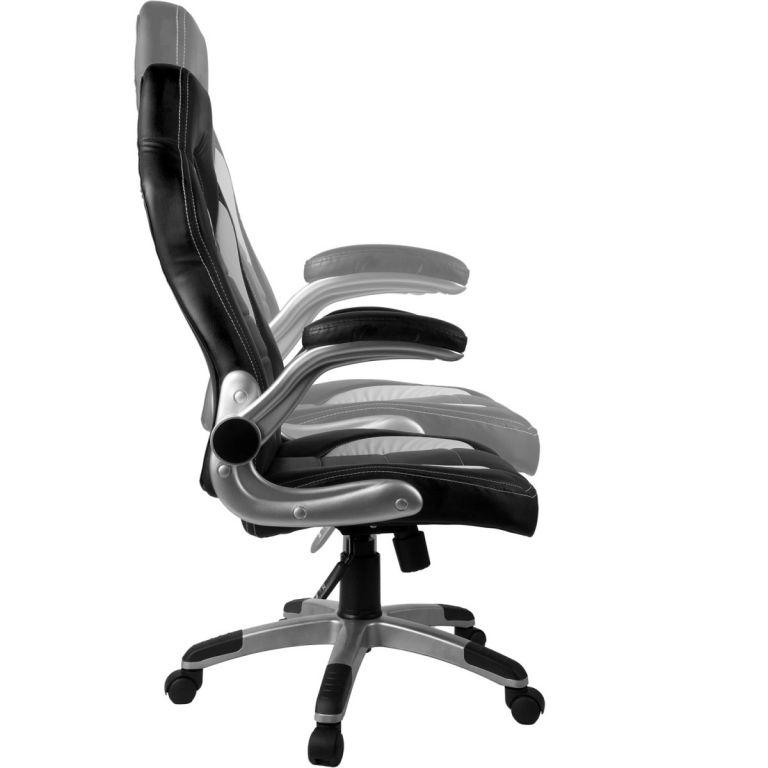 Kancelářská židle GT Series One - žlutá/černá/bílá