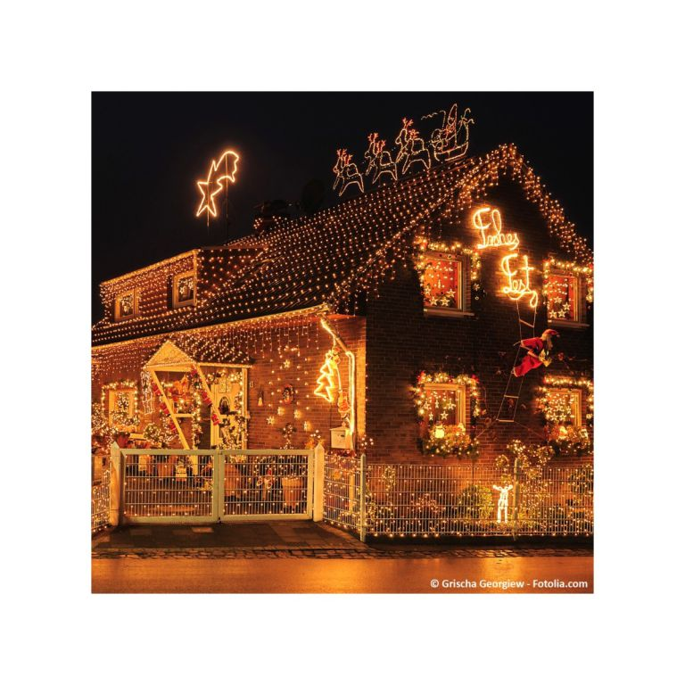 Vánoční LED osvětlení 10 m - teple bílá 100 LED - zelený kabel