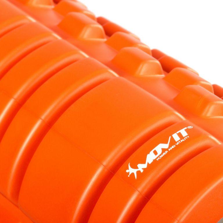 Posilovací masážní válec - FITNESS ROLLER MOVIT oranžová