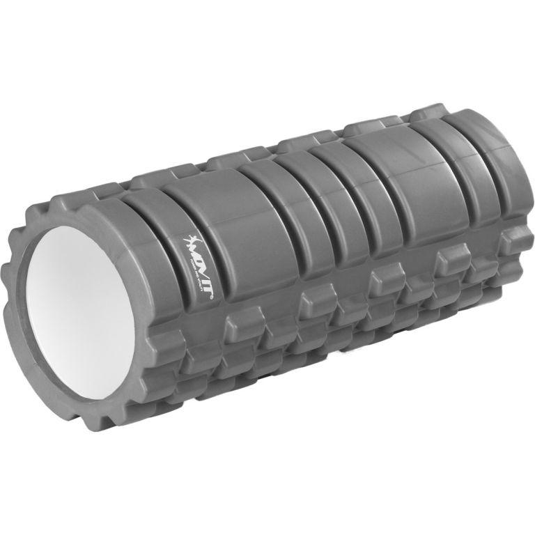 MOVIT FITNESS ROLLER 40584 Posilovací masážní válec - šedá