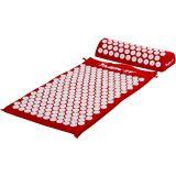 MOVIT Akupresurní podložka s polštářem 75 x 44 cm - červená