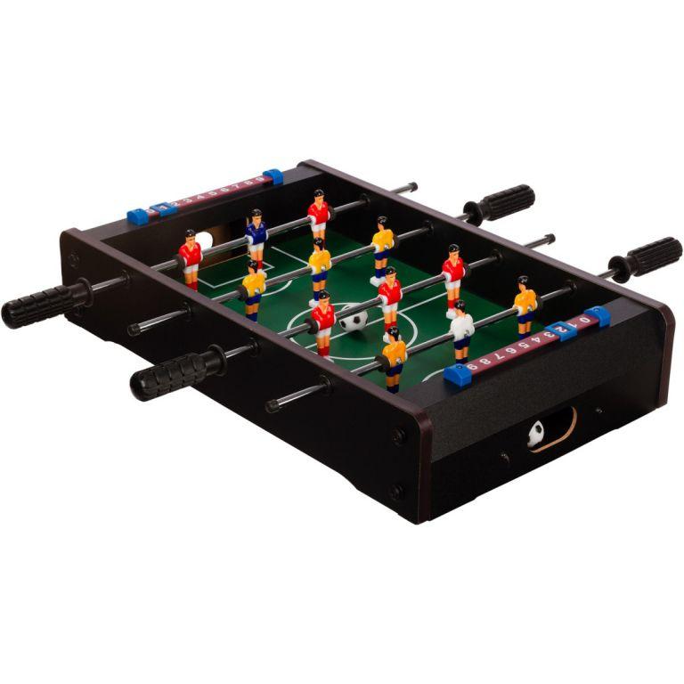 Mini stolní fotbal fotbálek 51 x 31 x 8 cm - černý