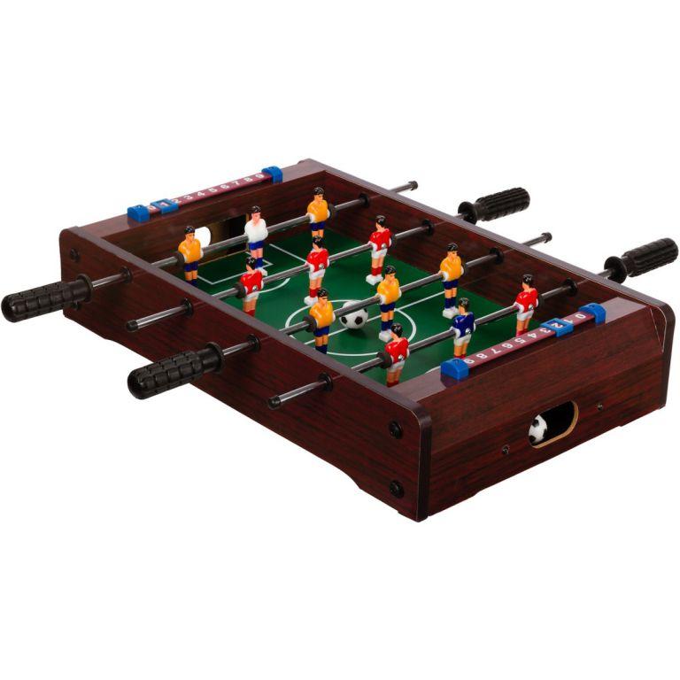 OEM Mini stolní fotbal fotbálek 51 x 31 x 8 cm tmavý M40693