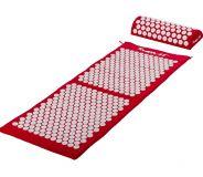 MOVIT Akupresurní podložka s polštářem 130 x 50 cm - červená