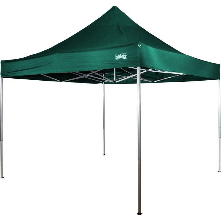 Stilista 43255 Zahradní párty stan nůžkový 3x3 m - zelená