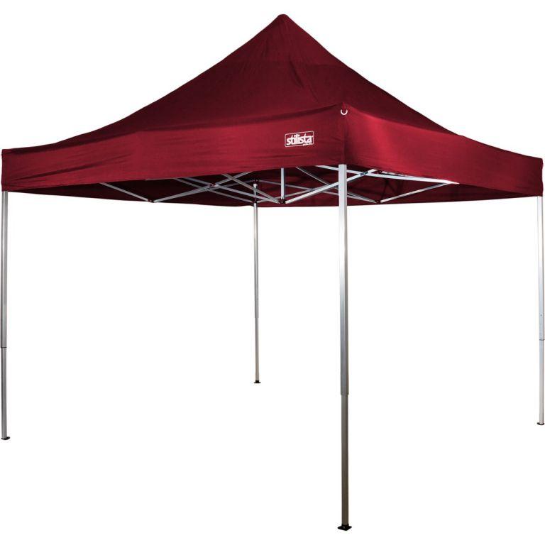 Stilista 43256 Zahradní párty stan nůžkový 3x3 m - červená burgundská