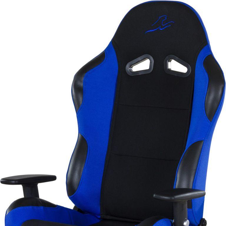 Kancelářská židle RACEMASTER RS Series – černá/modrá
