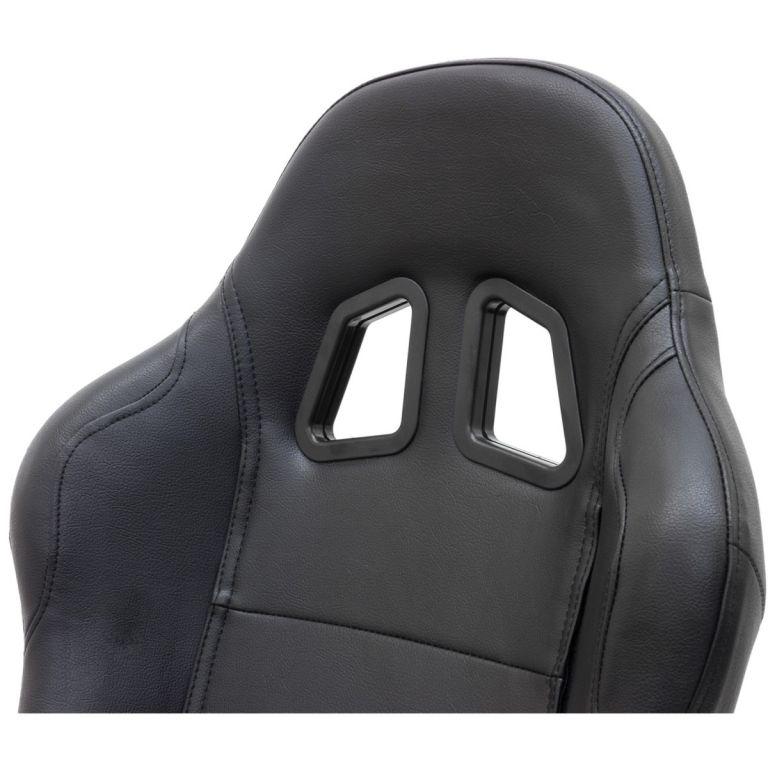 Kancelářská židle RACEMASTER RS Series - černá/černá