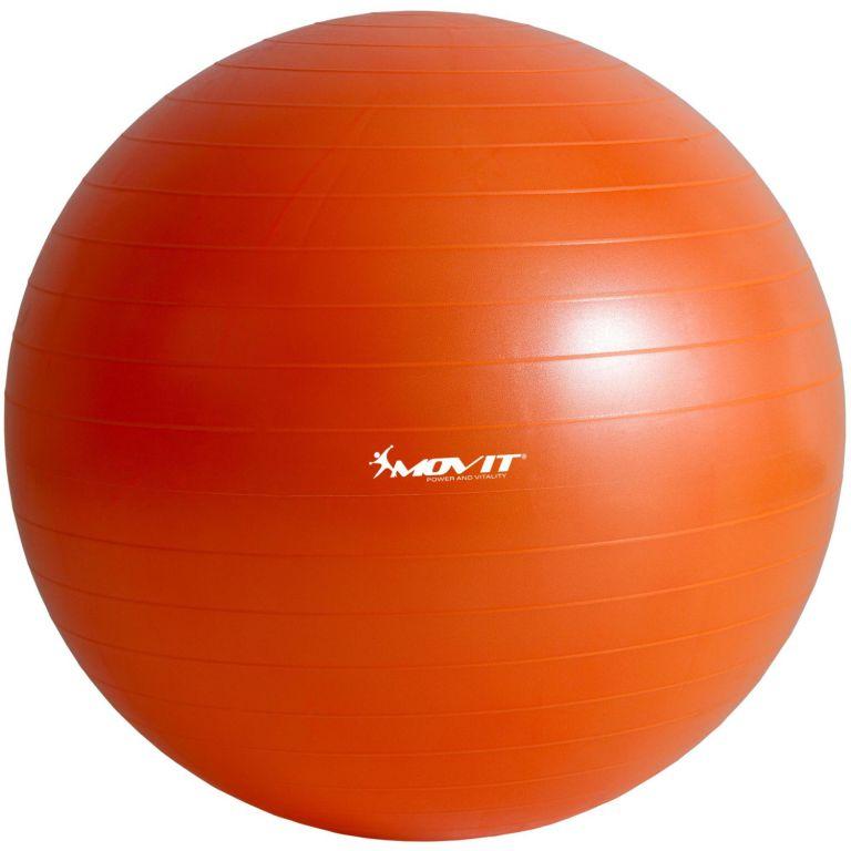 Gymnastický míč MOVIT s pumpou - 65 cm - oranžový