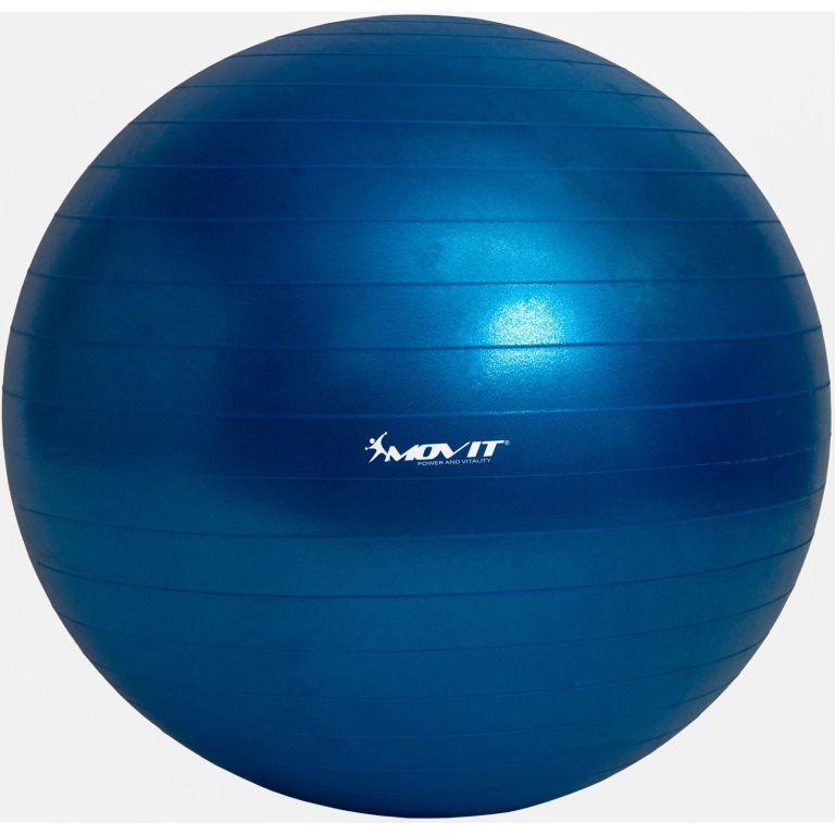 Gymnastický míč MOVIT modrý – 75 cm