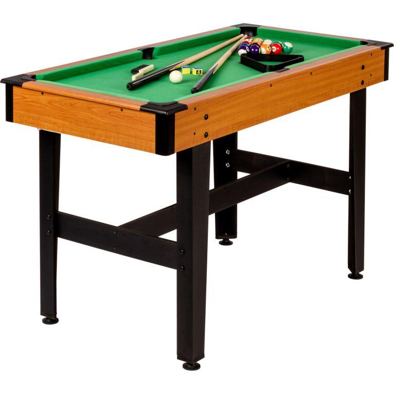 Kulečníkový stůl pool biliard kulečník 4 FT - s vybavením