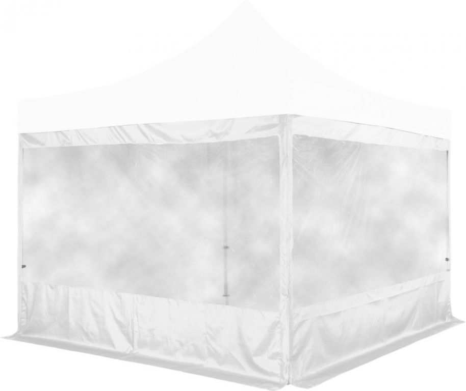 Sada 2 bočních stěn na stany INSTENT PRO 3 x 3 m – bílá