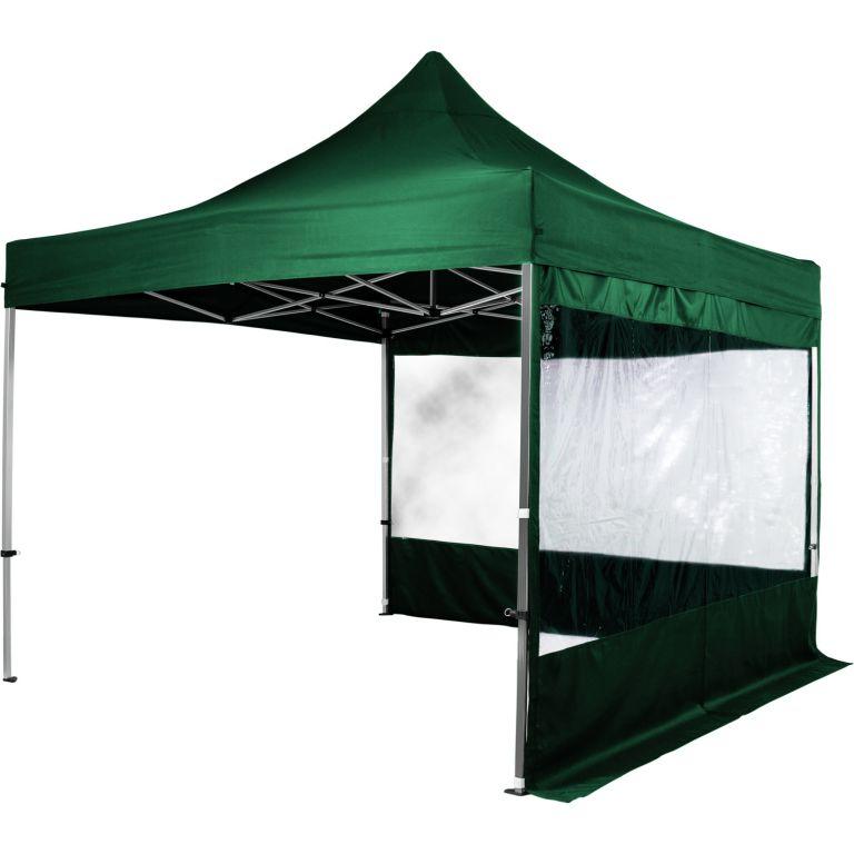 Sada 2 bočních stěn na stany INSTENT 3 x 3 m – zelená
