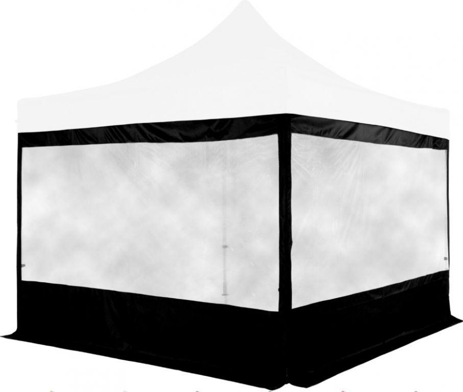 Sada 2 bočních stěn na stany INSTENT 3 x 3 m - černá