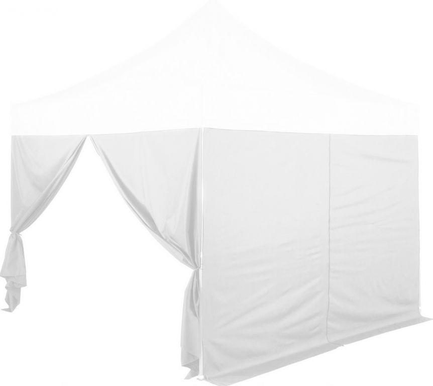 Sada 2 bočních stěn na stany INSTENT PRO 3 x 3 m - bílá