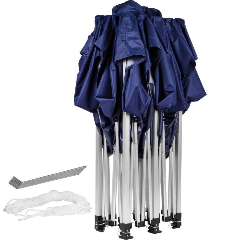 Zahradní párty stan 3 x 6 INSTENT PRO - nůžkový - modrý