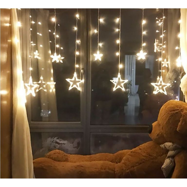 Vánoční osvětlení hvězdy