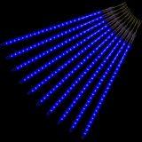 Vánoční LED osvětlení - padající sníh - 240 LED modrá