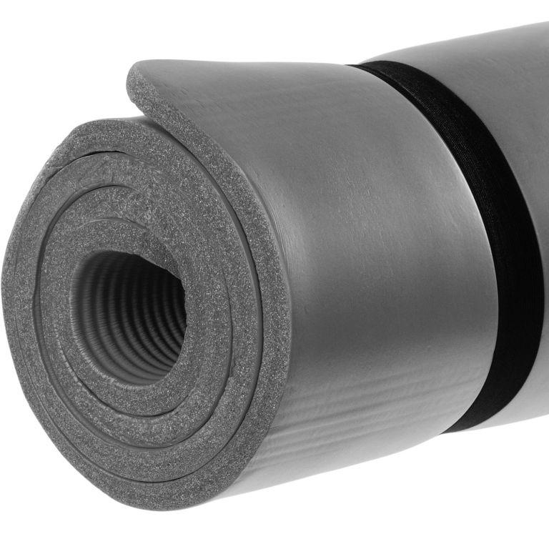Gymnastická podložka Movit 183 x 60 x 1 cm – šedá