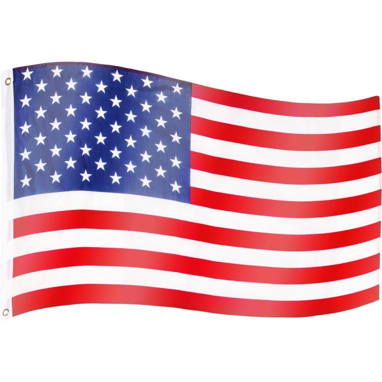 Vlajka USA – 120 cm x 80 cm