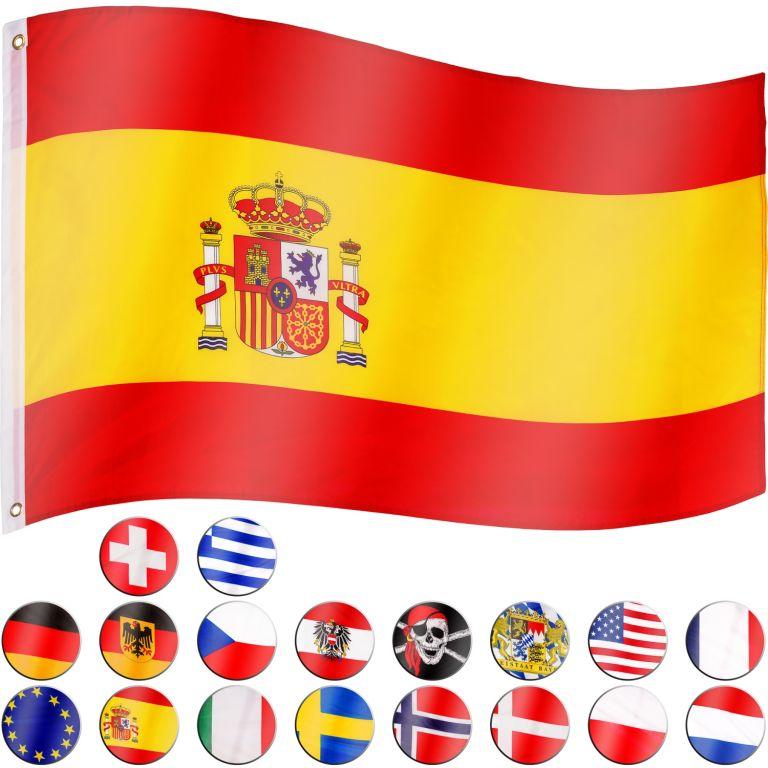 Vlajka Španělsko – 120 cm x 80 cm