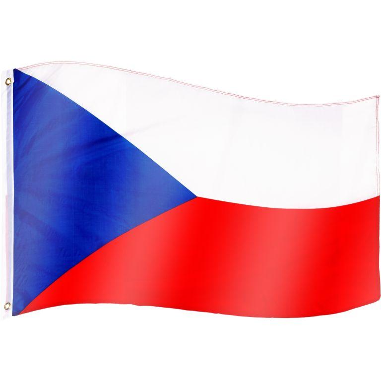 Vlajka Česká republika - 120 cm x 80 cm