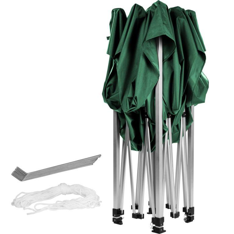 Zahradní párty stan nůžkový INSTENT BASIC 3 x 3 m – zelený