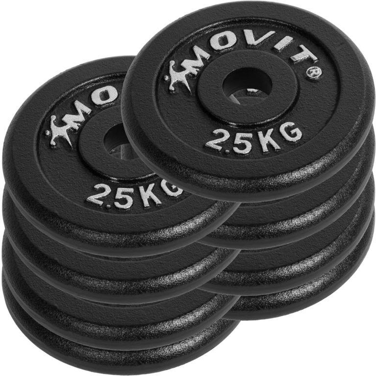 Profesionální sada činek MOVIT o celkové hmotnosti 30 kg
