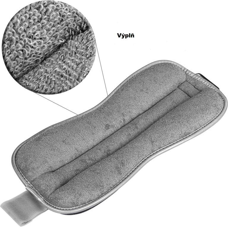 Neoprenové zátěžové reflexní manžety – 2 x 3 kg