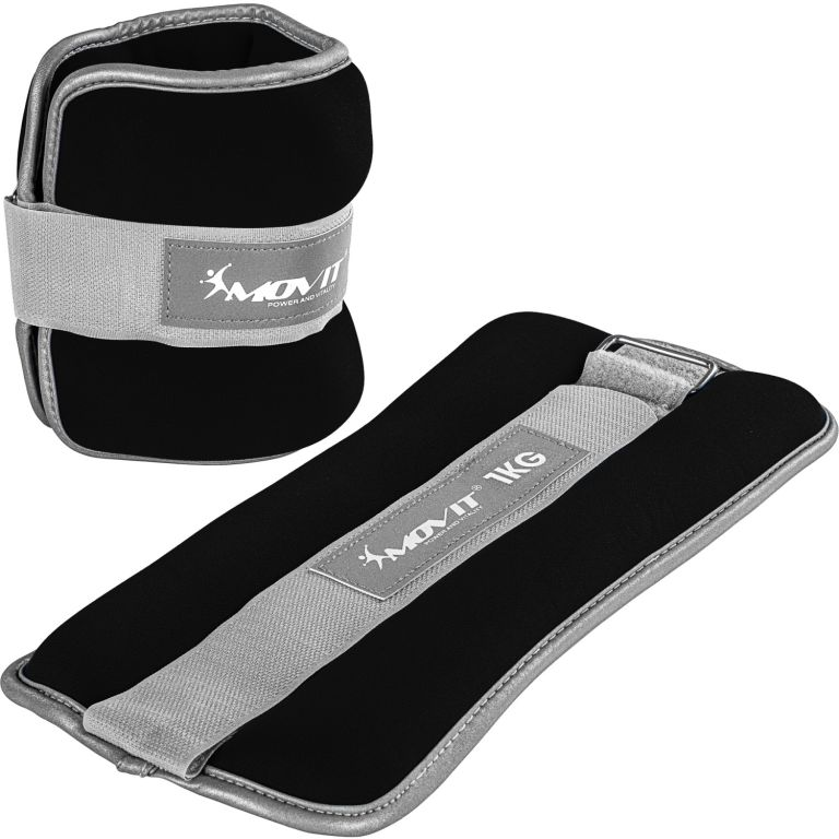 Neoprenové zátěžové reflexní reflexní manžety - 2 x 1 kg