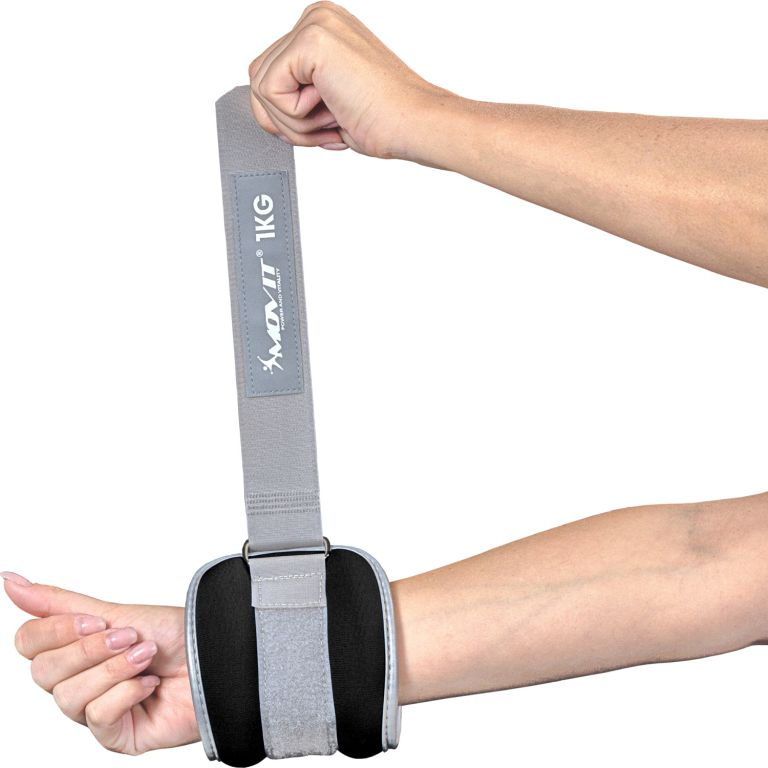Neoprenové zátěžové reflexní manžety 2 x 1,5 kg