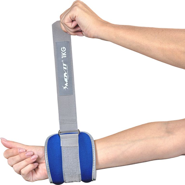 Neoprenové zátěžové reflexní manžety - 2 x 1,5 kg