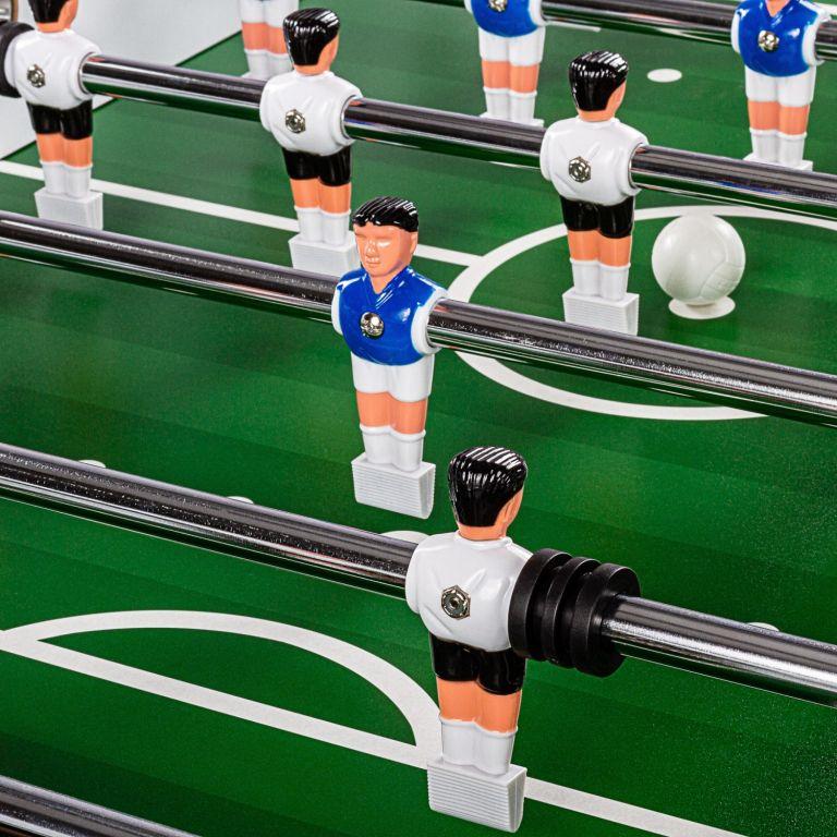 Stolní fotbálek Liverpool, 141 x 125 x 89 cm, 60 kg, bílý