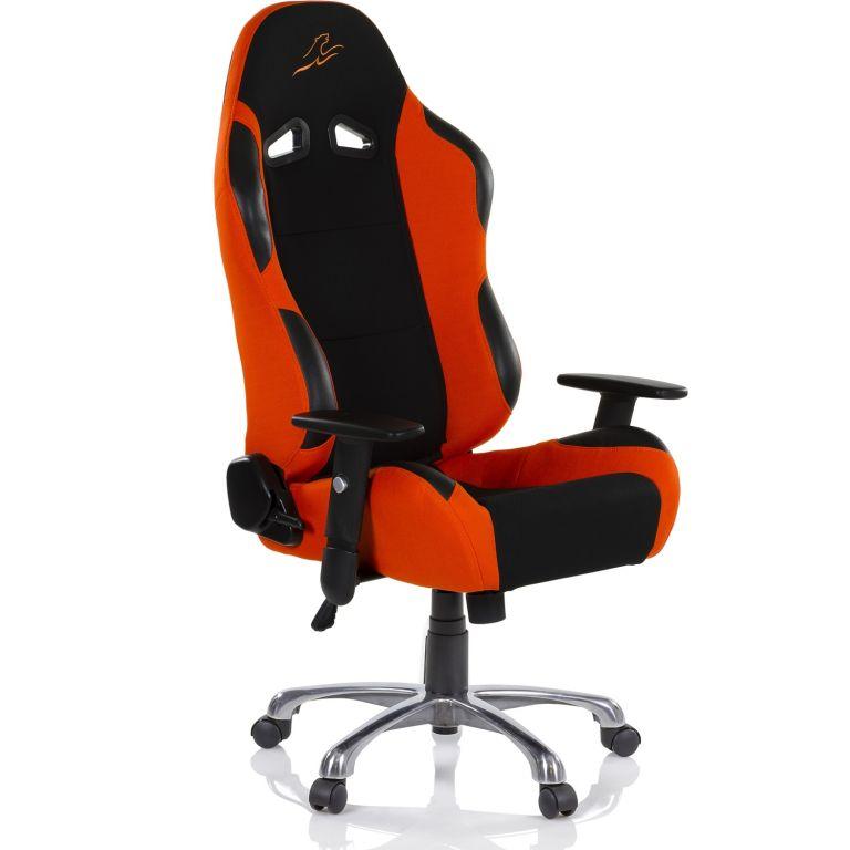 Racemaster RS Series Židle - černá/oranžová