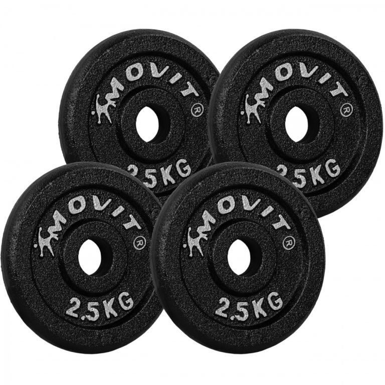 MOVIT sada závaží - 2,5 kg, litina