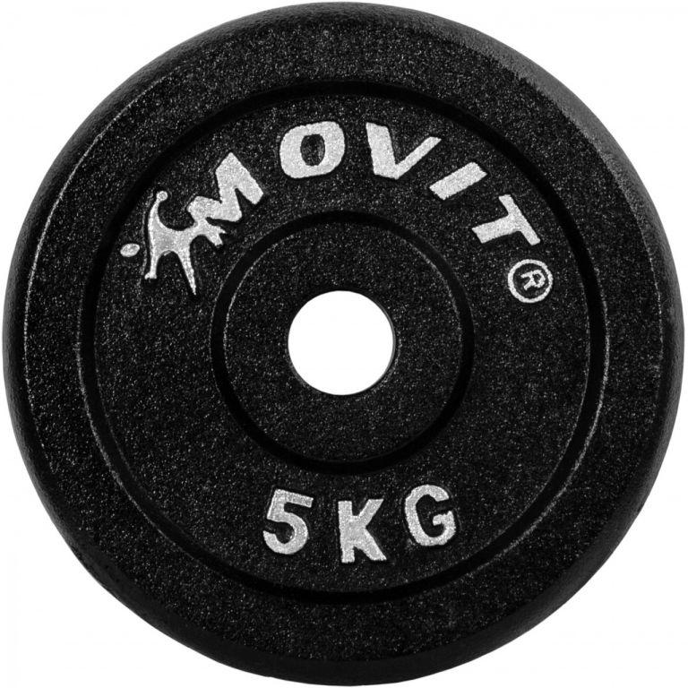 MOVIT sada 4 kusů závaží – 0,75 kg litina