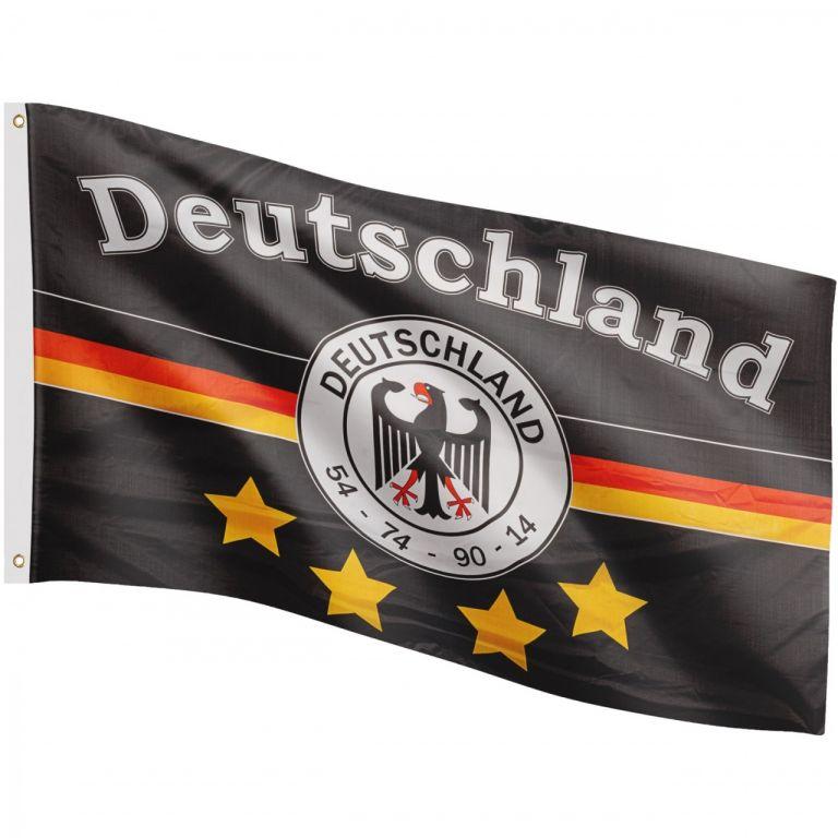 FLAGMASTER fotbalová vlajka Něměcko 120 x 80 cm