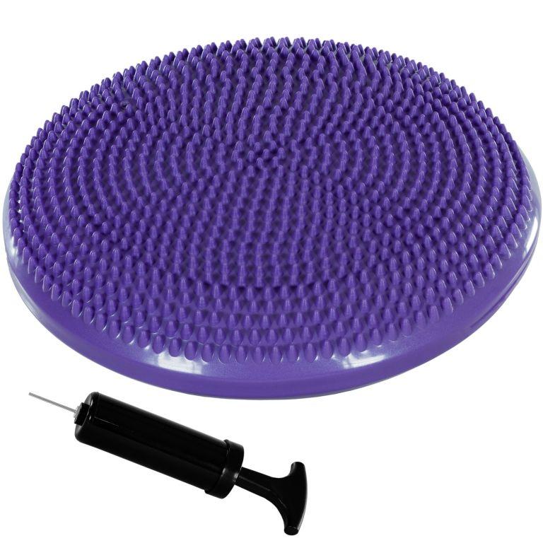 MOVIT Balanční polštář na sezení, 38 cm, fialový