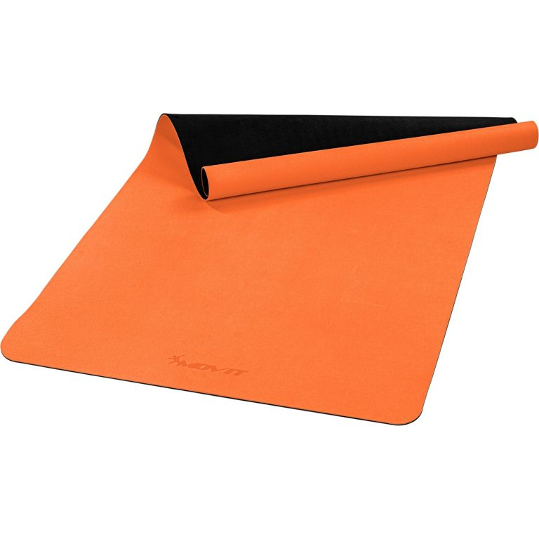 MOVIT Jóga podložka na cvičení, 190 x 100 cm, oranžová