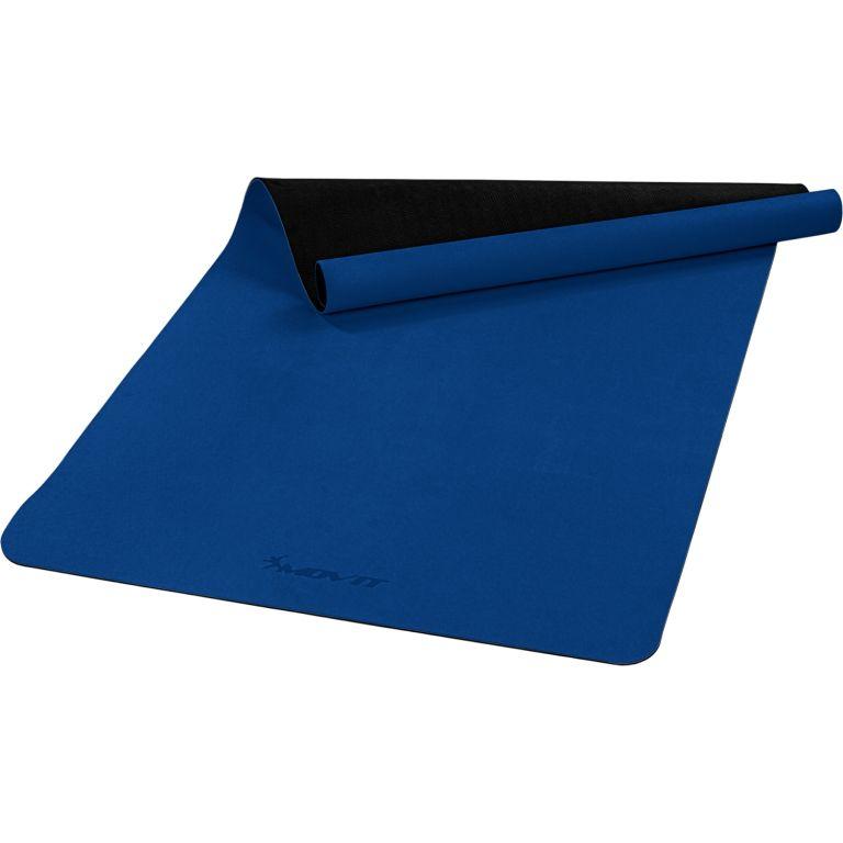 MOVIT Jóga podložka na cvičení, 190 x 100 cm, tmavě modrá