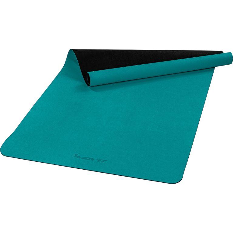 MOVIT Jóga podložka na cvičení, 190 x 100 cm, tmavě zelená