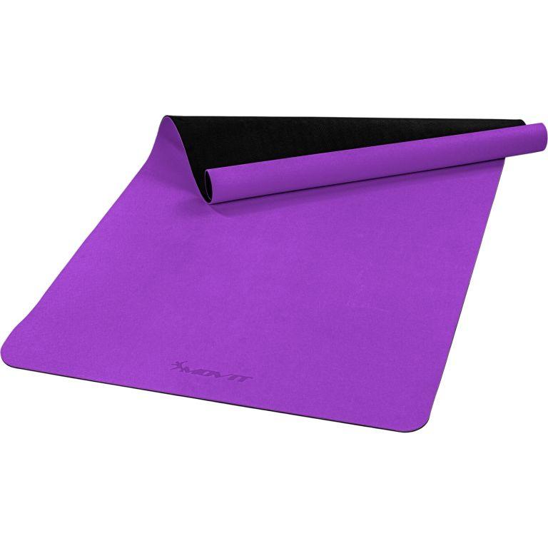 MOVIT Jóga podložka na cvičení, 190 x 100 cm, fialová
