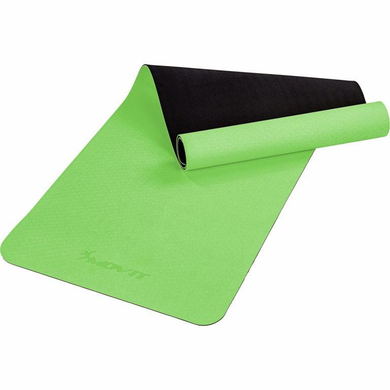 MOVIT Jóga podložka na cvičení, 190 x 60 cm, světle zelená