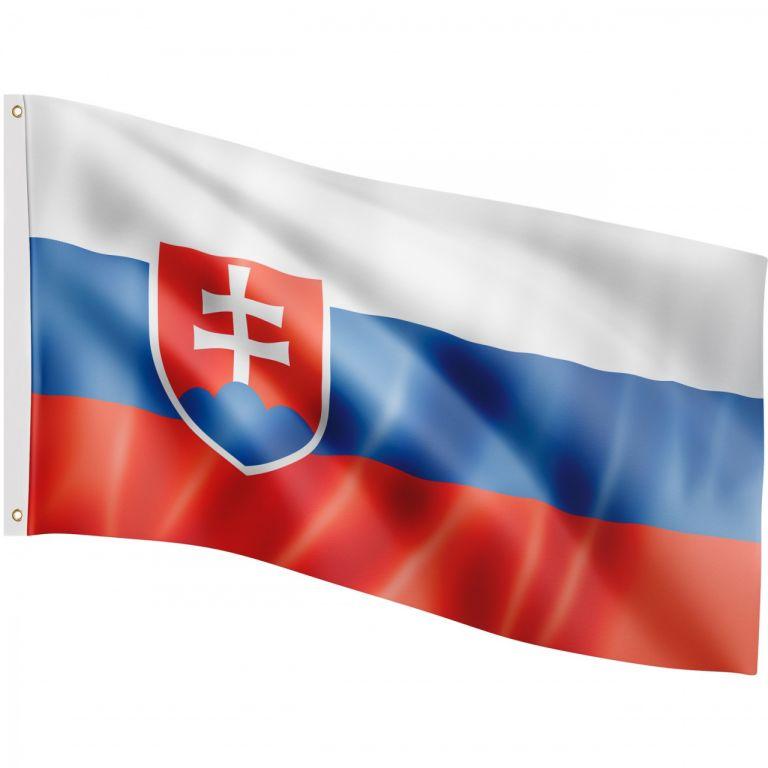 FLAGMASTER Vlajka Slovensko, 120 x 80 cm