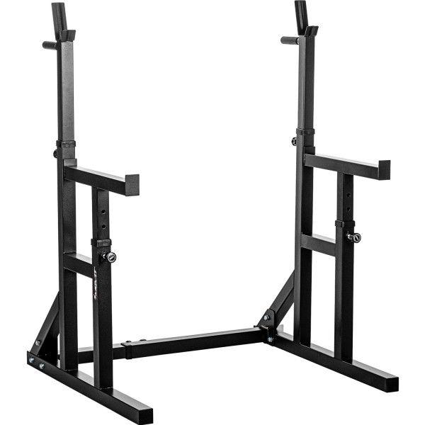 MOVIT Stojan na dřepy, černý, nosnost 300 kg