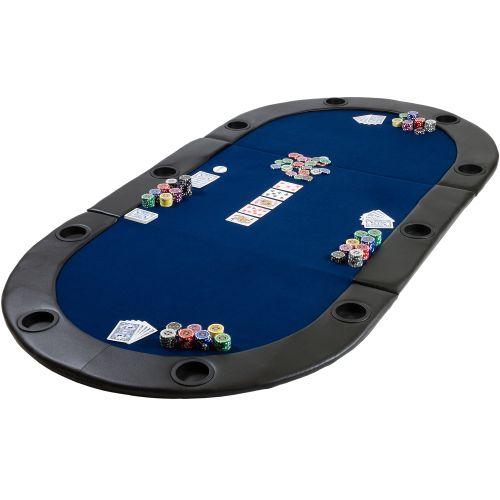 OEM M09495 Poker podložka skládací modrá