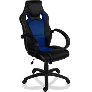 Otočná kancelářská židle MODRÁ MX Racer