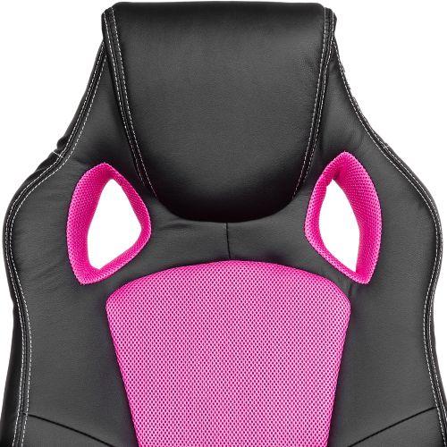 Otočná kancelářská židle RŮŽOVÁ MX Racer