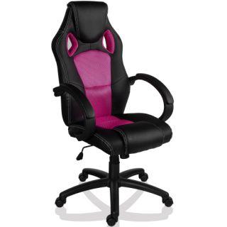Otočná kancelářská židle RŮŽOVÁ GS Series