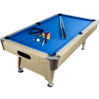 Tuin Kulečníkový stůl pool billiard kulečník 7ft - s vybavením